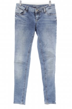 Only Skinny jeans staalblauw-azuur Jeans-look