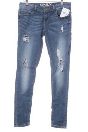 Only Skinny Jeans stahlblau-kornblumenblau Casual-Look