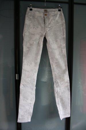 ONLY Skinny Jeans weiß/grau Gr.S
