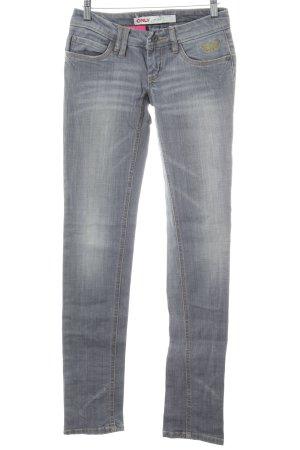 Only Jeans slim argenté style décontracté