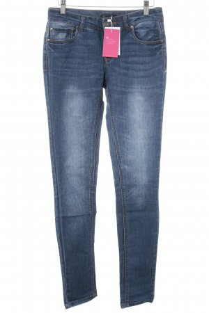 Only Slim Jeans blau Washed-Optik