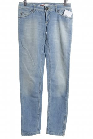 Only Slim Jeans hellblau Street-Fashion-Look
