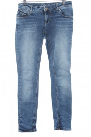Only Slim Jeans himmelblau Bleached-Optik