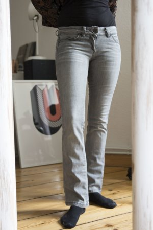 Only Slim Jeans in hellgrau Gr. 36