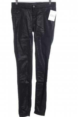 Only Slim Jeans schwarz Glitzer-Optik