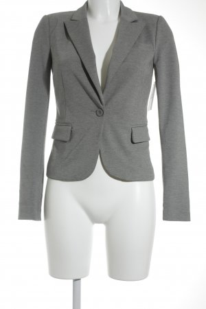 Only Smoking-Blazer grau meliert Business-Look