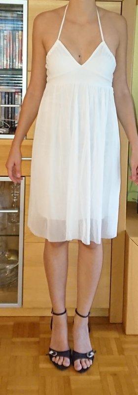 Only Halter Dress white polyester