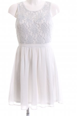 Only Abito in pizzo bianco stile casual