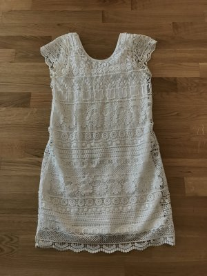 Only Knitted Dress white