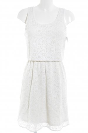 Only Lace Dress white romantic style