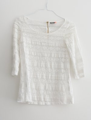 Only Kanten blouse wit