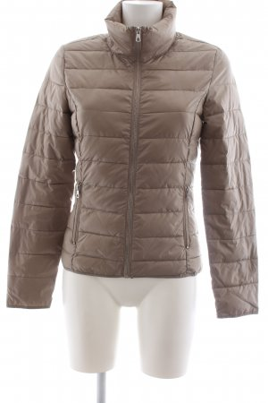 Only Steppjacke braun Steppmuster Casual-Look