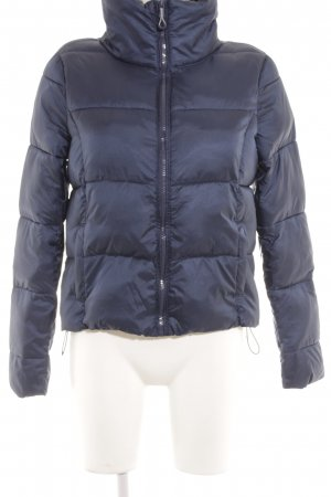 Only Steppjacke dunkelblau Glanz-Optik