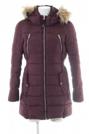 Only Steppjacke purpur Casual-Look