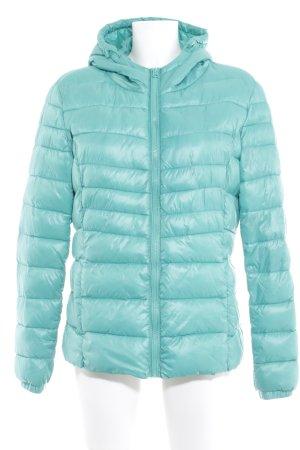 Only Veste matelassée turquoise motif de courtepointe style décontracté