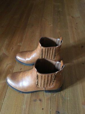 ONLY Stiefelette / cognac