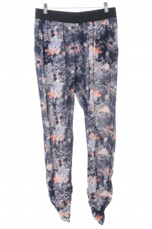 Only Stoffhose florales Muster Boho-Look