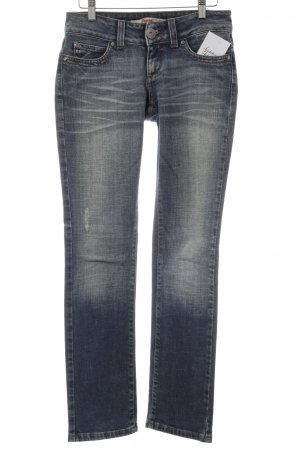 Only Straight-Leg Jeans blau-dunkelblau Casual-Look