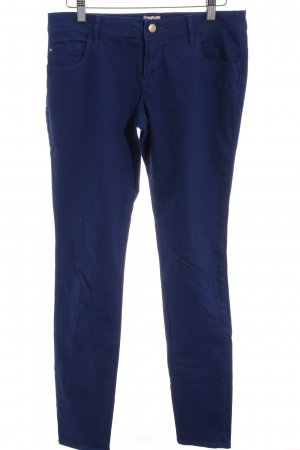Only Straight-Leg Jeans dunkelblau schlichter Stil
