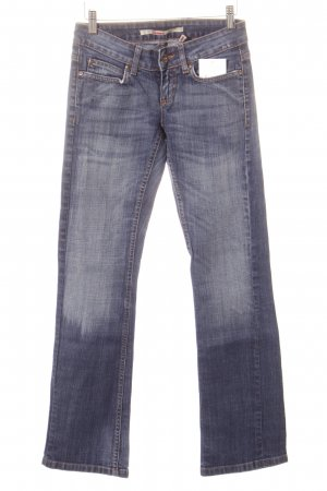 Only Straight-Leg Jeans graublau Used-Optik
