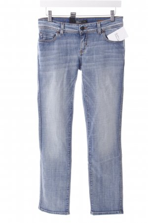 Only Straight-Leg Jeans hellblau Casual-Look