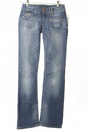 Only Straight-Leg Jeans kornblumenblau Casual-Look