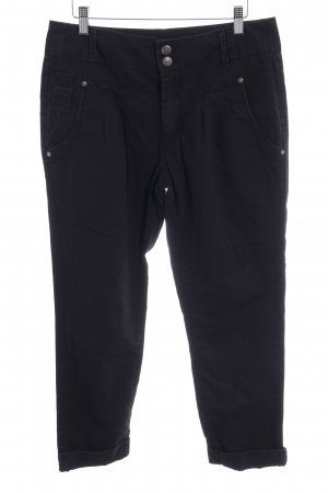 Only Straight-Leg Jeans schwarz Casual-Look