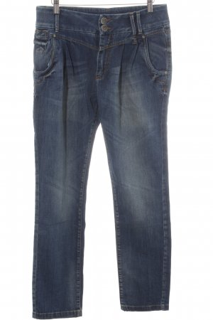 Only Straight-Leg Jeans stahlblau-blau Casual-Look