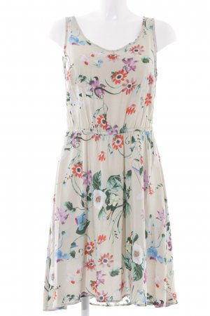 Only Beach Dress beige-nude floral pattern romantic style