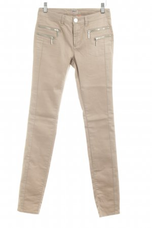 Only Stretchhose creme Casual-Look