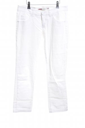 Only Stretch Trousers white casual look