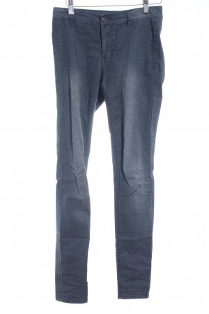 Only Stretchhose graublau-schwarz Animalmuster Animal-Look