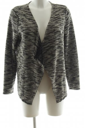 Only Strick Cardigan hellgrau-wollweiß meliert Casual-Look