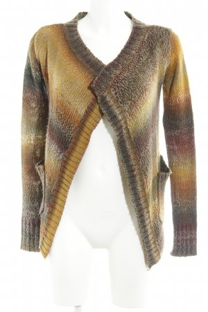 Only Strick Cardigan mehrfarbig Casual-Look