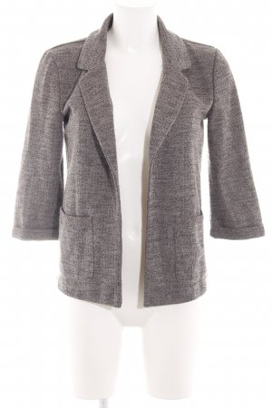 Only Strickblazer braun meliert Business-Look
