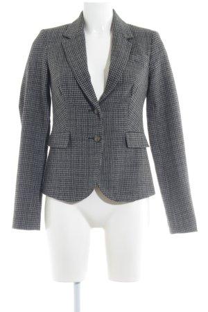 Only Blazer in maglia nero-grigio Stampa suggestiva stile professionale