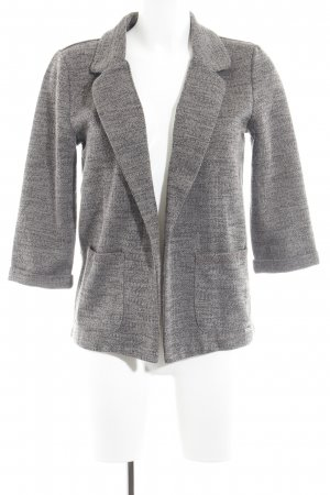 Only Knitted Blazer black brown flecked casual look