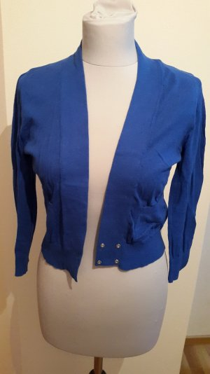 Only Strickjacke/Bolero royalblau Gr.S