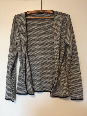 Only Strickjacke cardigan grau schwarz M
