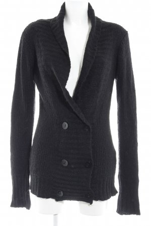 Only Strickjacke dunkelblau Casual-Look