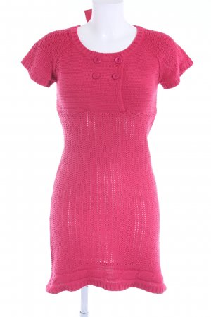 Only Strickkleid magenta Casual-Look