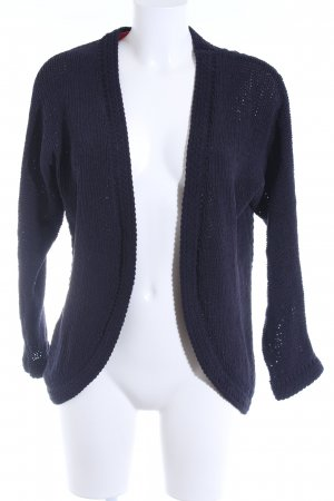 Only Knitted Coat dark blue casual look