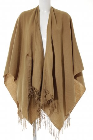 Only Strickponcho camel Casual-Look