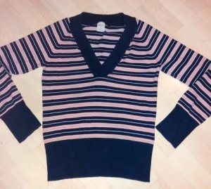 Only V-Neck Sweater multicolored