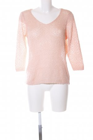 Only Strickpullover nude meliert Casual-Look