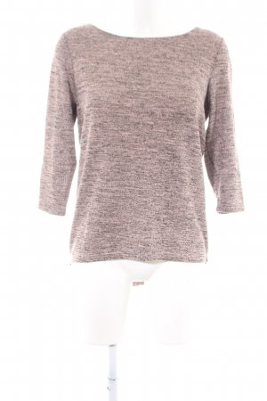 Only Strickpullover pink-hellgrau meliert Casual-Look