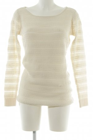 Only Strickpullover creme Casual-Look