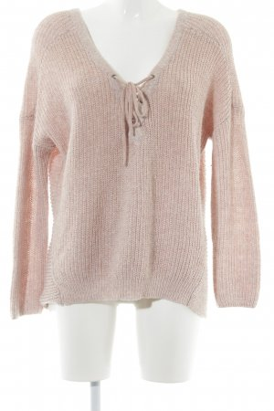 Only Strickpullover altrosa Casual-Look