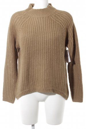 Only Strickpullover camel Casual-Look