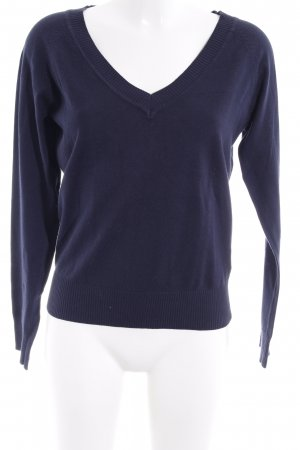 Only Strickpullover dunkelblau Casual-Look